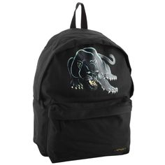 Ed Hardy Shane Panther Backpack - Black. Top handle for easy carrying, front zipper pocket. Water Based Original Ed Hardy tattoo Print. Padded mesh Adjustable shoulder straps. Fully lined interior. 16'' high x 12.5'' wide x 6.5'' deep.