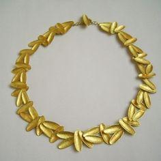 kayo saito: eternal fragment necklace - 18k gold