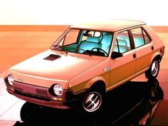 FIAT Strada (Ritmo) An early company car - the first car I had with an FM radio - radical!