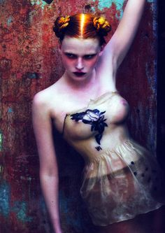 Lara Stone by Mert & Marcus.