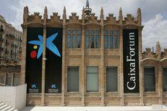 """CaixaForum Barcelona, centro social y cultural de la Obra Social """" la Caixa """". Obra de Puig i Cadafalch. // CaixaForum Barcelona, centre social i cultural de l'Obra Social """" la Caixa """" . Obra de Puig i Cadafalch."""