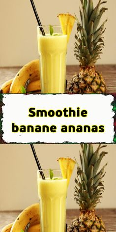 Pineapple Banana Smoothie, Vanilla Smoothie, Yogurt Smoothies, Strawberry Smoothie, Smoothie Drinks, Smoothie Bowl, Juice Bar Menu, Mini Blender, Canned Coconut Milk