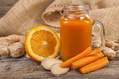 A- és C-vitaminnal megpakolt smoothie bőröregedés ellen: alaposan kivasalja a ráncokat Sumo Detox, Dietas Detox, Acerola, Vitamin C, Hot Sauce Bottles, Orange, Carrots, Vegetarian Recipes, Smoothies