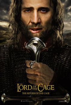 Tumblr with all the characters in Lord of the Rings replaced with Nicolas Cage. I couldn't decide if this was funny or scary.