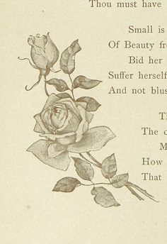 Image taken from page 38 of 'Flowers of Song. A choice selection from the poets, with illustrations and an introduction by F. E. Weatherly' | by The British Library
