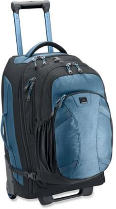 Travel Store : Rolling Backpack Best carry-on suitcase ever! It ...