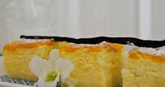 Puha vaníliás csodakrémes: csak keverj össze mindent - Recept | Femina Pizza Cupcakes, Magic Custard Cake, Hot Milk Cake, Fennel Soup, Buttermilk Chicken, Stale Bread, Soda Bread, Food Waste, Caramelized Onions