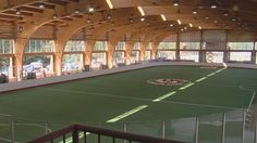 Construction is in full swing on the Onondaga Nation, where crews are preparing for the 2015 World Indoor Lacrosse Championship that kicks off in 10 days.