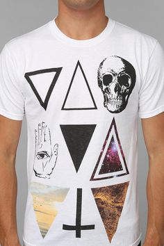 But what does it all mean!?  Figure it out in this epic symbols burnout tee. #urbanoutfitters