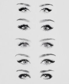 Eye makeup can shape your eyes in many ways