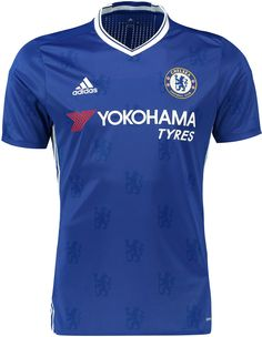 The Chelsea 2016-17 home kit features an all-over print of Chelsea lions, informed by the club's tradition and legacy.