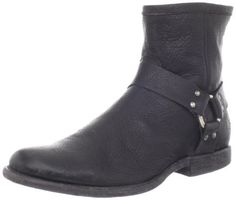 FRYE Men's Phillip Harness Boot FRYE. $258.00. Made in Mexico. Leather sole. 100% Leather