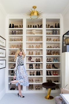I am SO excited to be sharing my closet reveal with you! I started dreaming up this space with Alice Lane a few months ago and it's everything I wanted