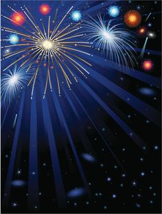 Fireworks and night sky background vertical:スマホ壁紙