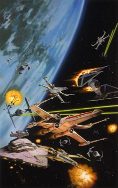 Always Star Wars, Since I've been talking about the wonderful X-Wing...