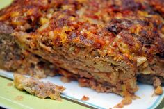 Comfort Food: Martha Stewart's recipe. My favorite meat loaf recipe of all time.
