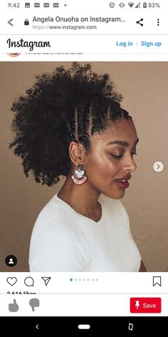 African Natural Hairstyles, Cute Natural Hairstyles, Ethnic Hairstyles, Curled Hairstyles, Texturizer On Natural Hair, Natural Hair Care, Natural Hair Styles, Protective Hairstyles, Protective Styles
