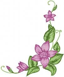 hand embroidery flowers patterns - Google Search