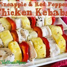 Chicken Pineapple Kebab