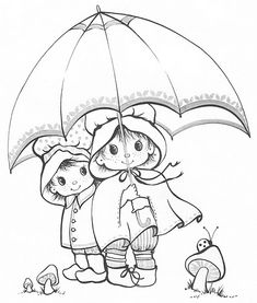 Coloring Book~Charmer Coloring Book - Bonnie Jones - Álbuns da web do Picasa Cute Coloring Pages, Printable Coloring Pages, Adult Coloring Pages, Coloring Pages For Kids, Coloring Sheets, Coloring Books, Precious Moments Coloring Pages, Copics, Digital Stamps