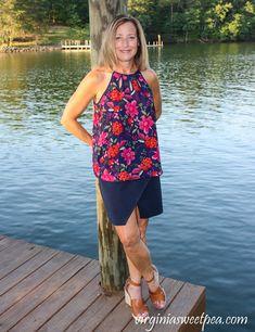 Stitch Fix Review for July 2020 - Papermoon Walita Cutout Detail Blouse #stitchfix #stitchfixreview Stitchfix Reviews, Tie Front Blouse, Women's Fashion, Fashion Outfits, Crochet Trim, Swimsuit Cover, Summer Tops, Stylish Outfits, Stitch Fix