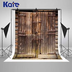 Vintage Wood Door Photography Backdrops Newborn Baby Digital Printing Backgrounds for Children Photo Studio Props Photo Backgrounds, Black Backgrounds, Picture Backdrops, Grey Wood, Gray, Decorate Your Room, Photography Backdrops, Wood Doors, Vintage Wood