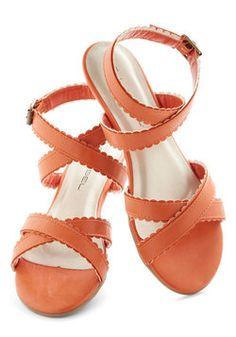 Carrot Crop Sandal, #ModCloth