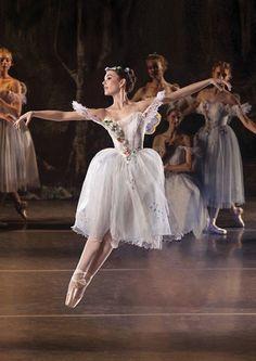 """poisoned-apple: """"Los Angeles Ballet principal dancer Alyssa Bross in La Sylphide. """""""