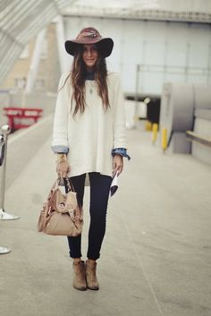 Stylish Fall Outfit.