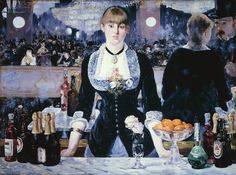 Manet's At the Folies Bergere