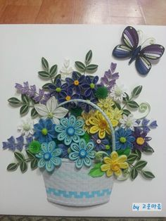 12 River - creative flower basket ^^: Naver blog