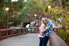 """Disneyland Engagement Photography -- really cute disneyland picture spots that don't look too """"disney"""" to the normal-person-eye"""