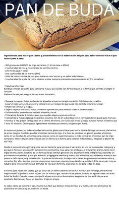 Pan de Sarraceno DMA #F1 #F3 Paleo, Keto, No Bake Desserts, Healthy Choices, Granola, Bread Recipes, Gluten Free, Healthy Recipes, Baking