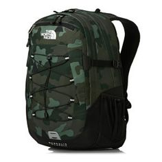 The North Face Borealis Classic Backpack - Camo Print/Tnf Black | Free Delivery*