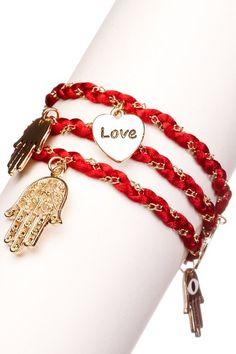 Meghan Fabulous Hamsa Wrap Bracelet on HauteLook