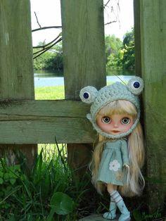 Custom BLYTHE doll  SUNFLOWER by Marina 55 by Marinart on Etsy