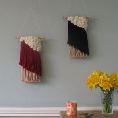 Just loving these two stylish woven wall hangings available to buy from my etsy shop. Handmade in Ireland. Can be shipped worldwide and comes beautifully packaged. #weaving #woven #wovenwallhanging #wallhanging #loom #wool #yarn #irish #ireland #art #craft #handmade #buyhandmade #shophandmade #etsy #etsyshop #etsyseller #gift #etsyfinds #corkireland #corkcity