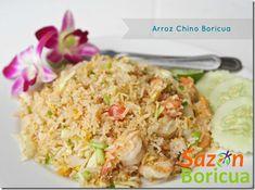 El arroz frito o chino como le decimos en la isla, es muy popular en la dieta del puertorriqueño. Debo comentarles que existen decenas de variedades de arroz frito, cada uno con su propia lista específica de ingredientes. Espero les guste! Arroz chino boricua INGREDIENTES 3 tazas de arroz blanco cocido (yo uso grano…