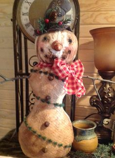 HAFAIR Team December Treasury - So Many Snowmen!!! by Pearce's Craft Shop on Etsy