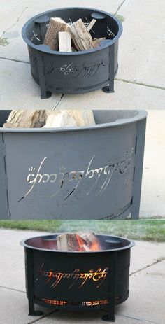 @earlsmama You know you want me to make you one of these Lord of The Rings fire rings!