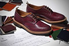 Tricker's x End Hunting Co. Oxblood Brogues
