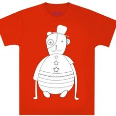 TEDDY t-paita punainen