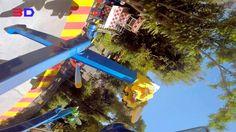 Air Race 3D front seat on-ride HD POV Fantasilandia