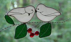 True Love Birds by theglassmenagerie on Etsy, $24.00