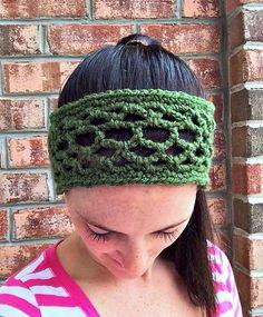 02aef8f516c Crochet Patterns Galore - Lattice Tie Headband Tie Headband