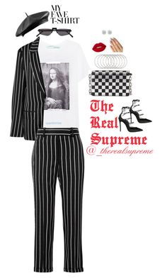 """ADA"" by supremestyles ❤ liked on Polyvore featuring Off-White, Haider Ackermann, Andy Wolf, Dsquared2, Alexander Wang, Lime Crime and Melissa Joy Manning"