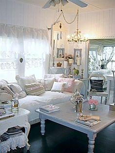 Living room sofa side