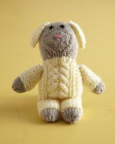 Cute Cabled Lamb