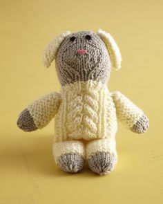 Cute Cabled Lamb