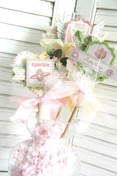 A Bouquet of  Wands created using Webster Pages *new* GIRL LAND by Emeline.